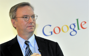 Dr. Rory Lewis, Eric Schmidt, CEO of Google, in Audience